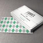 Визитная карточка в стиле ретро (Ai&EPS)