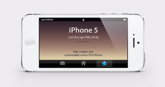002-iphone-mobile-retina-display-landscape-black-white-mockup-psd