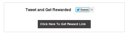 Reward Link After Tweet