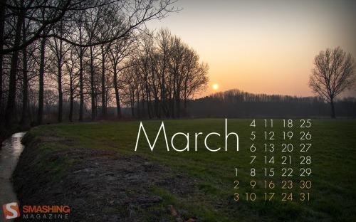 Обои для рабочего стола - март 2013