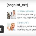 Выводим ссылки на страницы с миниатюрами в Wordpress. Плагин Page-list